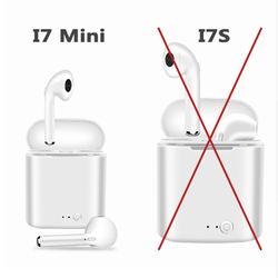 i7 Mini TWS Wireless Bluetooth Earphone Stereo Earbud Headset For Iphone X 8 Smart Phone Headphones air pods With Charging box