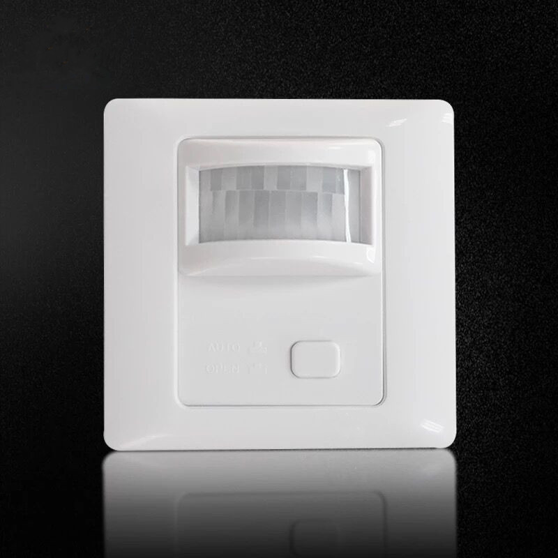 AC 110V-240V PIR Sensor Infrared Motion Sensor light Dimmer PIR Switch Recessed Wall Module With PIR ON OFF Body Move Induction high quality wall mounted pir motion sensor light switch max 600w load 9m max distance 1pc gs45