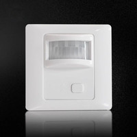 AC 110V 240V PIR Sensor Infrared Motion Sensor Light Dimmer PIR Switch Recessed Wall Module With