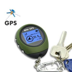 Image 2 - Podofo 2019 Mini GPS Tracker Tracking Device Travel Protable Keychain Locator Pathfinding Outdoor Sport Handheld Keychain