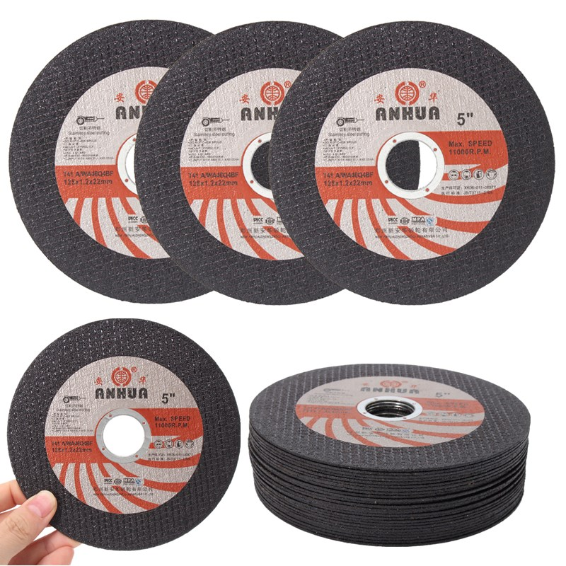 25PCS 125mm X1.0mm Cutting Disc Grinding Wheel Abrasive Cutting Disc Drill For Stainless Steel&Metal 100mm Angle Grinder Acces