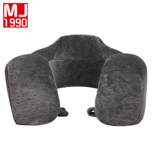 U-shaped Pillow Memory Foam Neck Pillow Velvet Head Support Office Cushion Comfortable Travel Pillows