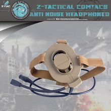 Z-TAC Military Airsoft Bowman Elite II  Tactical Headset Air duct earphone for walkie-talkie Z027