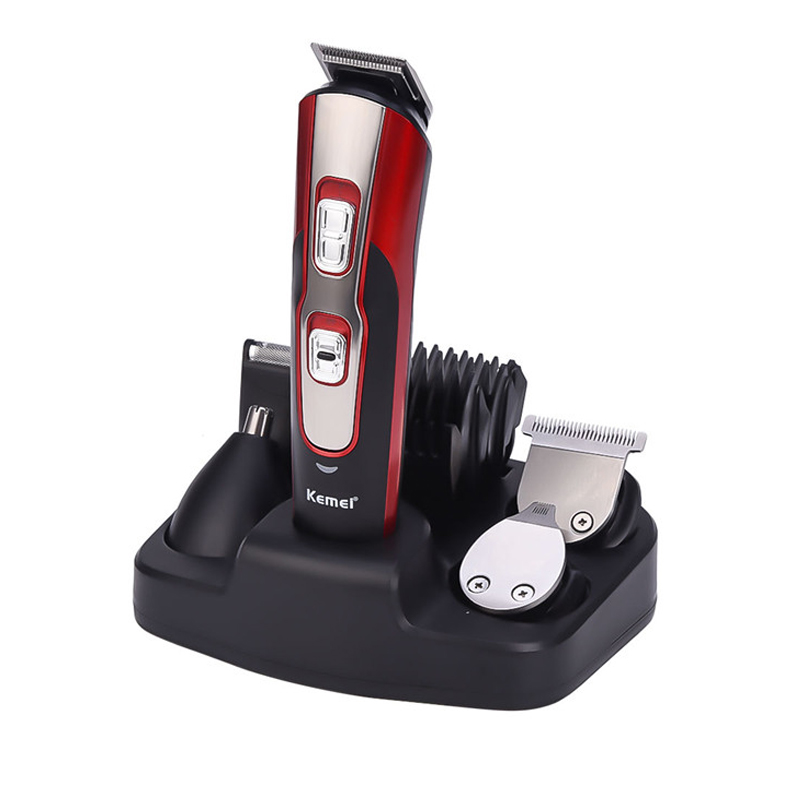 All In One Shaving Machine Hair Trimmer Beard Trimer For Men Rechargeable Face Hair Removal Groomer Body Shaver Stubble Trimmer philips multigroom series 7000 14 in 1 premium trimmer for face hair and body with dualcut technology showerproof mg7720 15