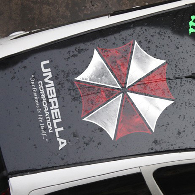 35 Car Autocollant 90 Styling Pvc Umbrella Corporation Cm Couleur wq6wFvP