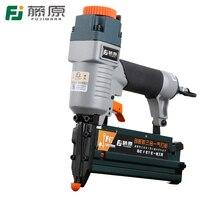 FUJIWARA 3 in 1 Carpenter Pneumatic Nail Gun 18Ga/20Ga Woodworking Air Stapler F10 F50, T20 T50, 440K Nails Carpentry Decoration