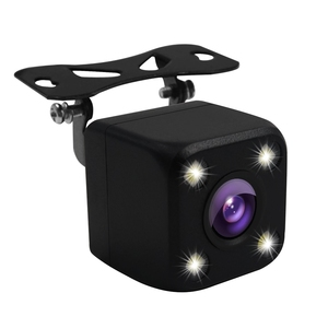 Image 4 - 4 LED Lights Car Rear View Camera HD Auto Camera Back IP68 Waterproof Car Reverse Cameras Vehicle Parking Camera