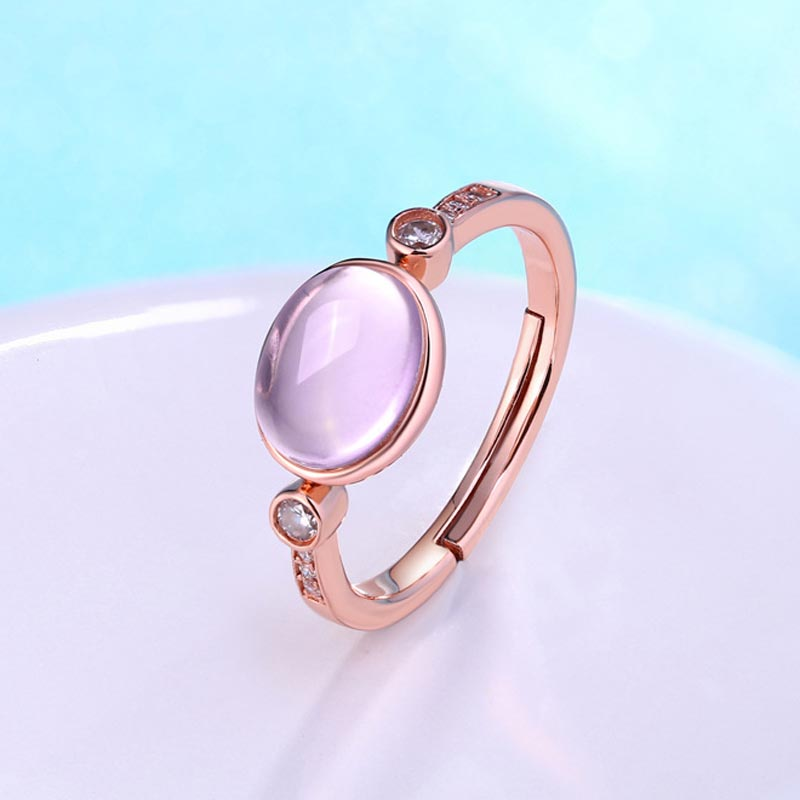products quality high quartz rutile rings gold wedding white ring