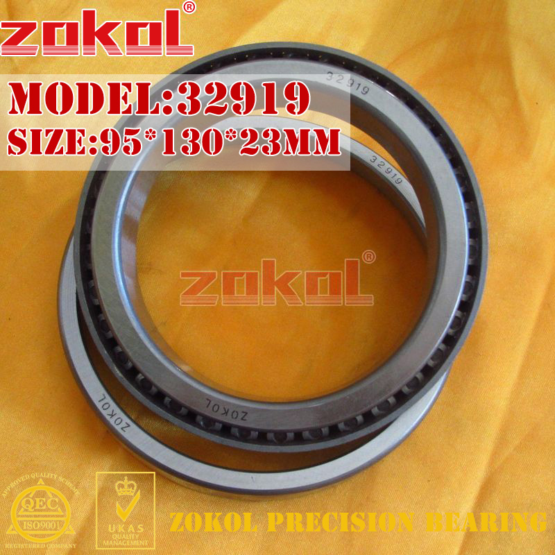 ZOKOL bearing 32919 2007919E Tapered Roller Bearing 95*130*23mm блуза adl adl ad006ewhpz76