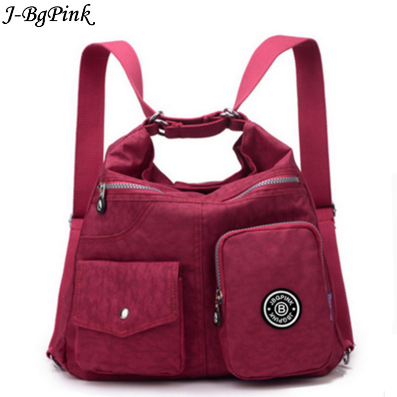 J-Bg Pink New Women Messenger Bags High Quality Ladies Handbags Shoulder Bag for Women Waterproof Nylon Handbag Crossbody bols все цены