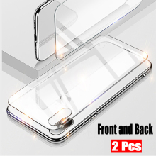Get more info on the 9H 2.5D For iPhone XS Screen Protector Transparent Front+ Back Full Body Tempered Glass Film For iPhone X Glass Protector