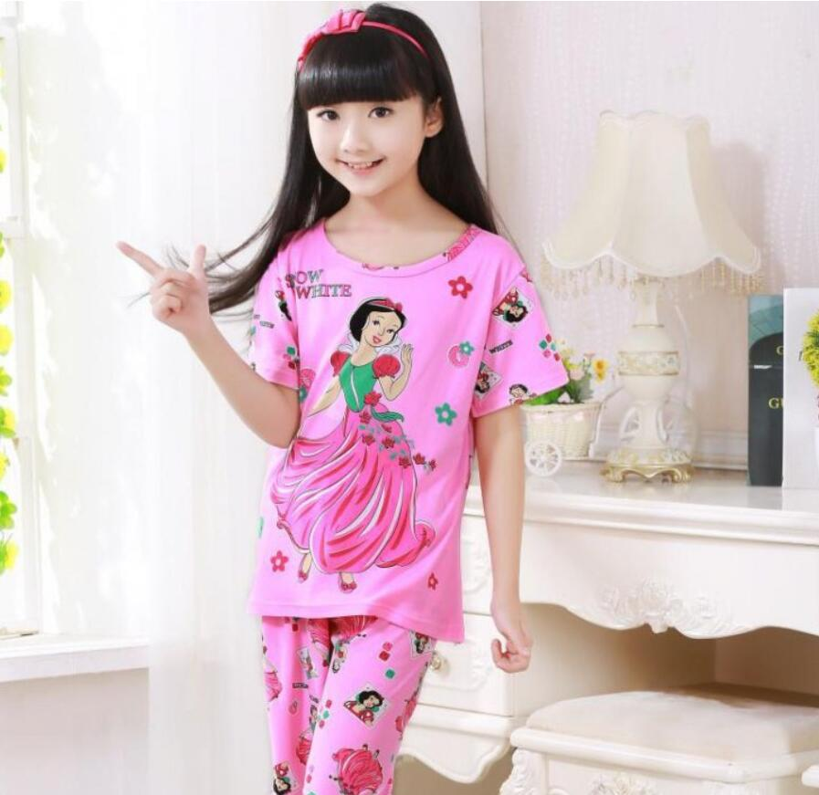 Pajamas-Sets Girl Clothes Baby-Girl Cotton Kids Boys Cartoon Children for Infantil KTF80