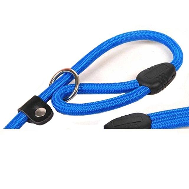 1PC Brand New Nylon Dog Leash Training Dog Lead Strap Pet Dog Rope Collar Traction Adjustable Dog Harness 3 Colors 2 Sizes Hot