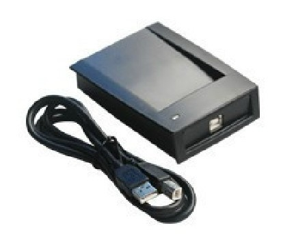 Free shipping ,RFID reader, USB desk-top card dispenser, <font><b>IC</b></font> card reader .13.56M,Read 10-digit,without driver ,sn:<font><b>1028</b></font>,min:5pcs image