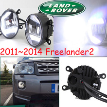 Freelander2 fog light,LED ;2011~2014 ,Free ship!Freelander 2 daytime light,2ps/set+wire,Freelander2