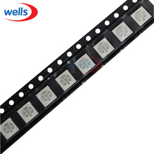 5000 pcs PLCC -6 5050 RGB 3-CHIPS SMT SMD LED Light Chip