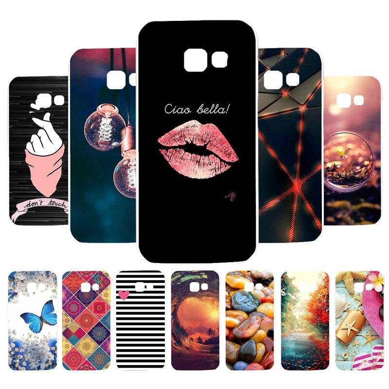 A7 2018 Case For Samsung A5 A3 2017 2016 Case Silicone Cover For Samsung A8 Plus A20e A20 Core A10e Note 10 Plus Cases Funda