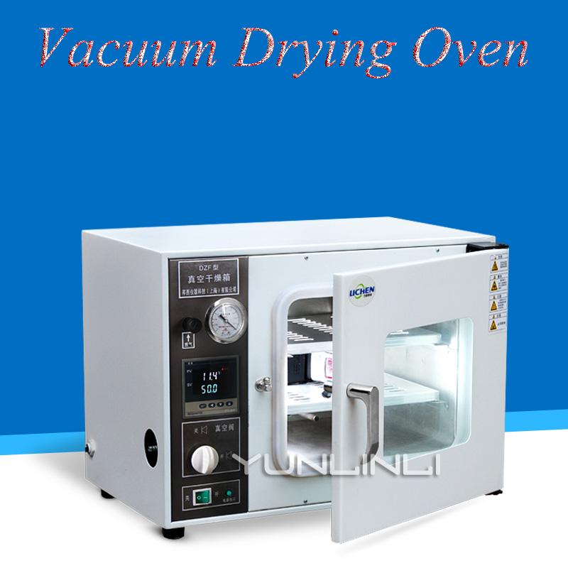 Digital Vacuum Drying Oven Cabinet Small Industrial Drying Carbinet For Laboratory Extraction DZF-6020A kh 101 0s pointer stainless inner drying oven constant temperature blast drier industrial drying cabinet instrument baking box