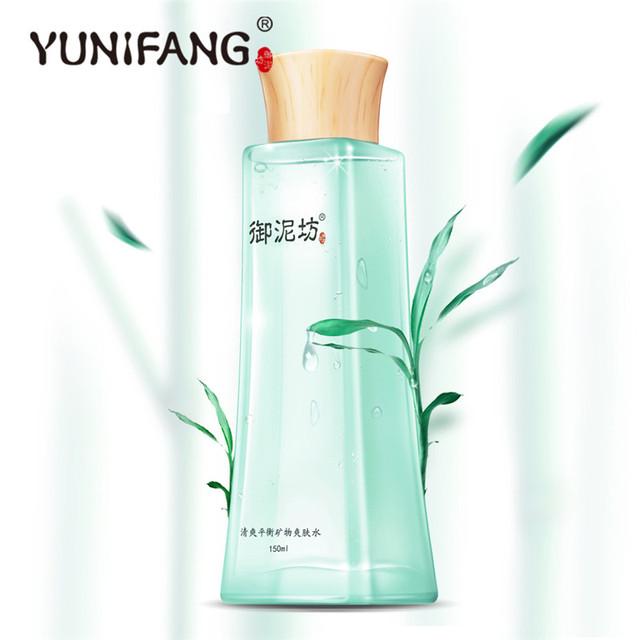 Hot belleza yuniafng tóner de control de aceite 5.3 oz sebo espinillas espinillas nariz fresa poros removedor para hombres mujeres freeshipping