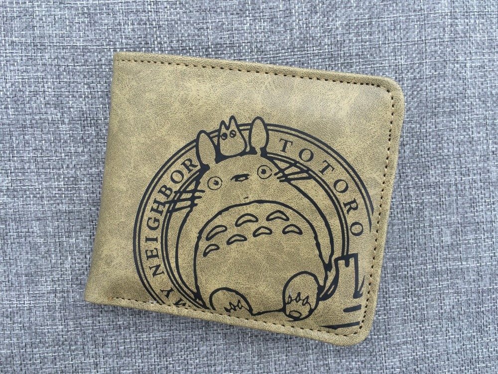 2016 My Hayao Miyazaki Q version of cartoon animation around the quality PU short wallet wholesale purse the quality of accreditation standards for distance learning