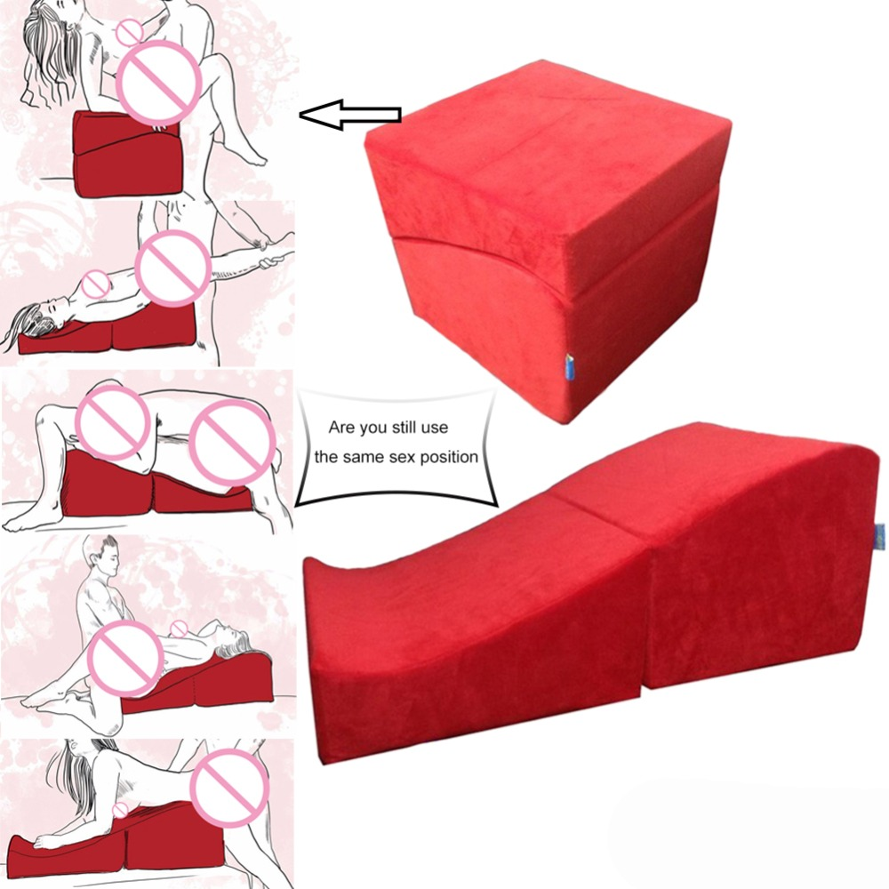 Wild Sex Furniture Couples Sex Products Red Flirt Ramp -7100