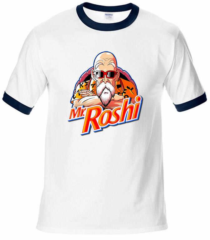 Мастер Роши Dragon Ball Beat футболки Goku Мужская модная одежда новая футболка с рукавами реглан Camiseta
