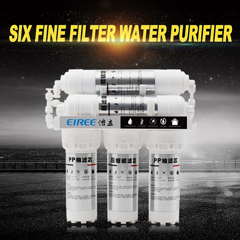 High quality 6 stage UF membrane water filter with use home groundwater land use and water quality