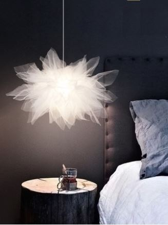 Nordic lamps bedroom warm romantic simple modern style lamp childrens room creative personality chandelierNordic lamps bedroom warm romantic simple modern style lamp childrens room creative personality chandelier