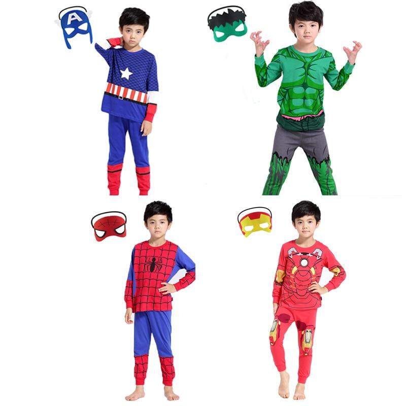 Kids Boy Pajamas Dinosaur Sleepwear Child Hulk Costume Toddler Nightwear Clothes