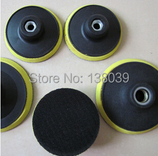 4'' Foam Backers For Polishing Pads