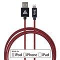 4 ШТ. MFI Сертифицированный 100% Гарантия Оригинальный 3.3ft 8pin USB Синхронизации Данных Кабель Зарядного Устройства для iphone 6/6 plus/5/5S для iPad Air