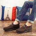 DreamShining Новая Мода мужская Повседневная Обувь Зима Хлопка Обувь Старый Пекин Плоские Теплые Ботинки Хлопка Размер 39-44