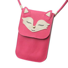 Vintage Handbag Women Cute Zero Purse Bag Leather Shoulder Crossbody Messenger Phone Bag Women Day Clutches Hobo o bag Lucky(China)