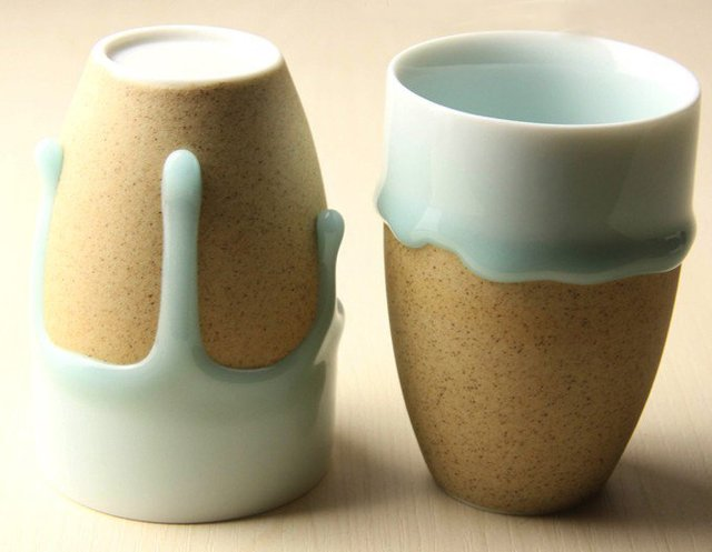 Free shipping elegant green glaze mugs, creative coffe mugs, home decoration ceramic mugs