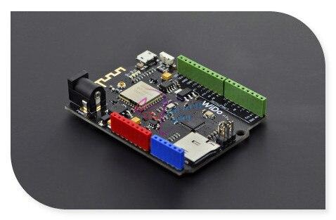WiDo-Open Source DFRobot WiFi IoT Node/placa do controlador mestre, JORJIN CC3000 2.4G 802.11 b/g Compatível com Arduino Leonardo