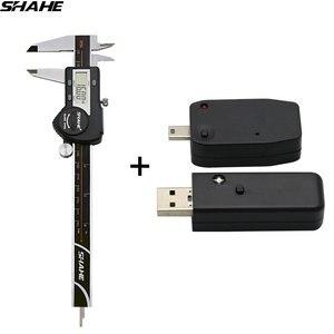 Shahe новые радиочастотные передачи данных выход + shahe цифровые Штангенциркули 0-150 мм 0,01 мм