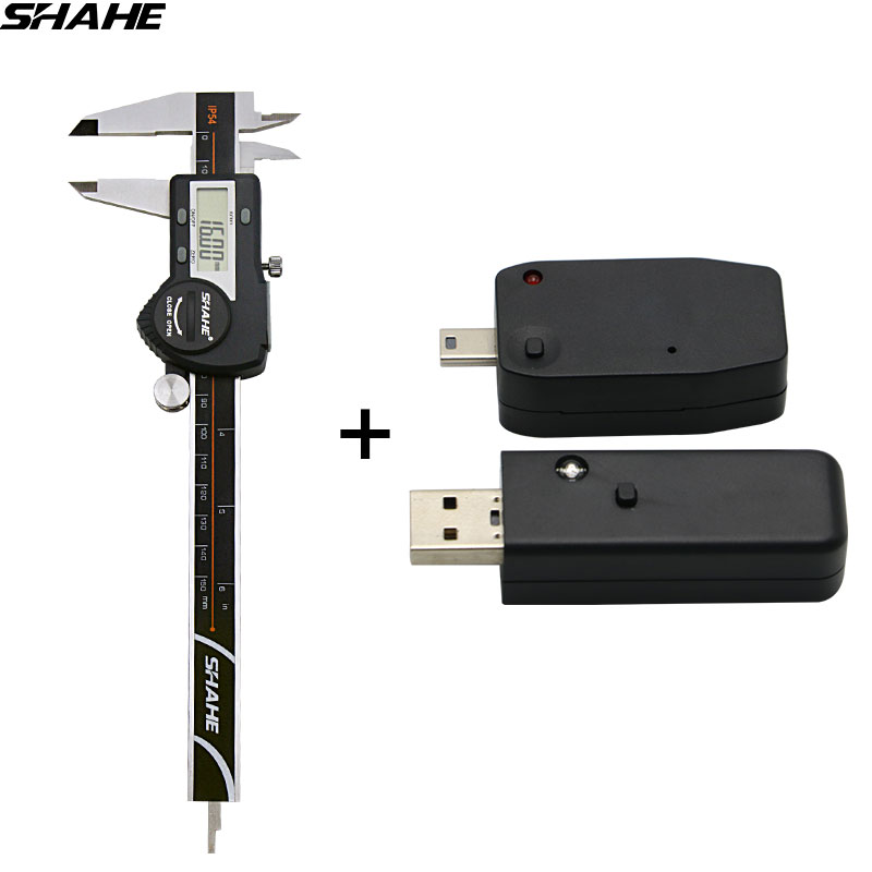 shahe New Radio Frequency Transmission Data Output+shahe Digital Vernier Calipers 0-150 mm 0.01 mm mypsk radio digital modem 40m band shortwave radio radio data transmission psk cw rtty
