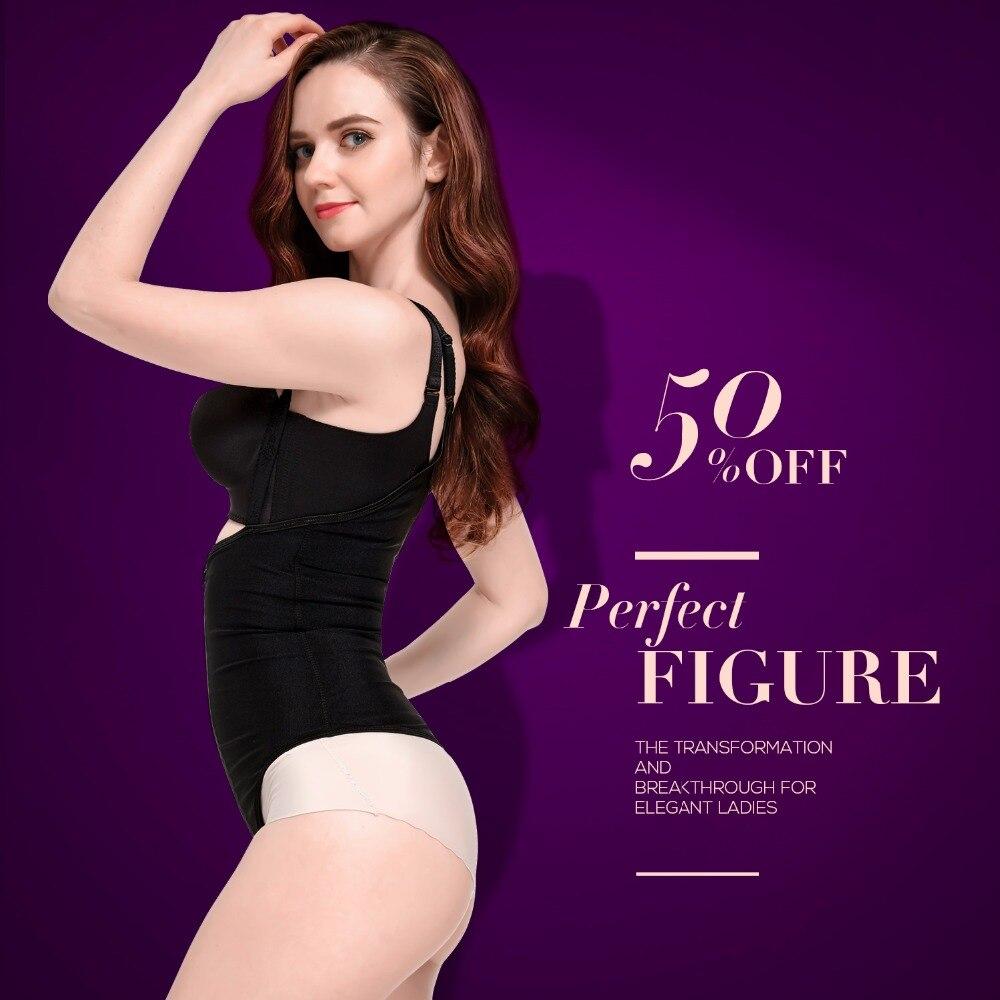 Slimming Underwear bodysuit women waist trainer Slimming Belt body shaper  Slimming corset shapewear hot shaper Control pants-in Bodysuits from  Underwear ... 0940f7061