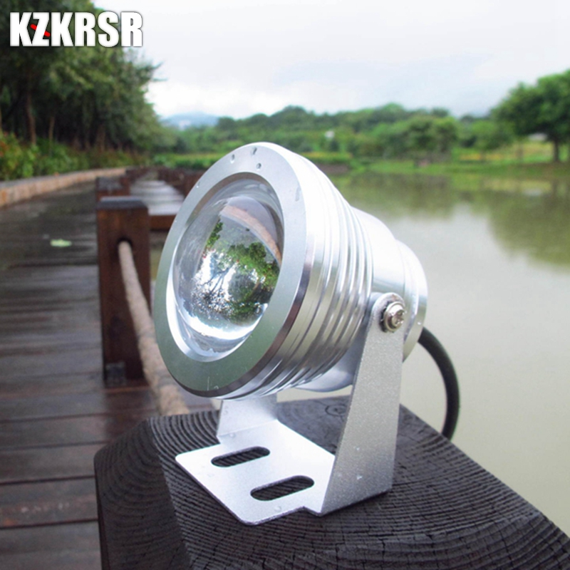 Led Underwater Lights Apprehensive Kzkrsr Dc12v 10w Rgb Led Underwater Light Ip68 Waterproof Aquarium Swimming Pool Light Aluminum Led Spotlight For Fish Tank Factory Direct Selling Price