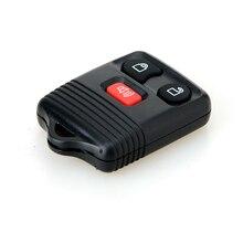 Сменный Автомобильный ключ с 3 кнопками, подходит для Ford, без ключа, пульт дистанционного управления, автомобильный брелок для ключей, кликер, передатчик 315/433 МГц, обмен