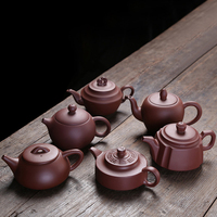 Hand Made good quality purple clay teapot(150,180,200,210ml) Yi Xing Purple Clay Teapot Zishahu Kungfu teapot Chinese tea set