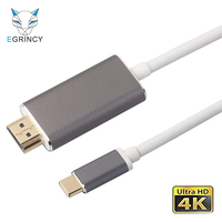 EGRINCY USB C To HDMI Adapter 4K 2K Type C USB 3 1 To HDMI Male