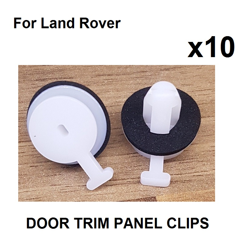 10 Pcs For Land Rover Windscreen A Pillar Trim Clips LR053837 LR034389