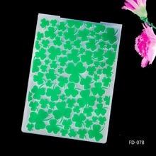 2017 New Arrival Scrapbook Leaves design DIY Paper cutting dies SCRAPBOOKING PLASTIC EMBOSSING FOLDER EF01