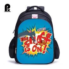 2018 Tom and Jerry Children Schoolbag for Boys Girl Waterproof Backpack Lovely Cartoon Orthopedic Mochila Infantil