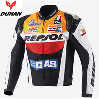 2017 Fashion DUHAN cross country motorcycle riding suit men women seasons motorbike jacket personality sports motor clothes