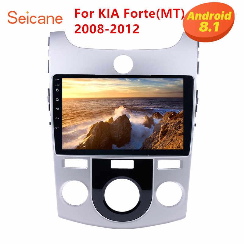 Seicane 9 インチ 2DIN GPS ナビゲーションアンドロイド 8.1 カーラジオ起亜フォルテ MT 2008 2009 2010 2011 2012 サポート bluetooth DVR WiFi
