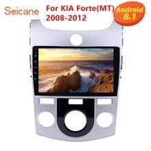 Seicane 9 дюймов 2DIN gps навигация Android 8,1 автомобильный радиоприемник для KIA Forte MT 2008 2009 2010 2011 2012 Поддержка Bluetooth DVR WiFi
