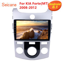 Seicane 9 Inch 2DIN GPS Navigatie Android 8.1 Auto Radio Voor KIA Forte MT 2008 2009 2010 2011 2012 Ondersteuning bluetooth DVR WiFi(China)