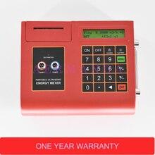 Portable Ultrasonic flow meter with Temperature/Heat Meter TUC-2000E built-in Printer Digital Liquid Flowmeter TM-1 Transducer цена